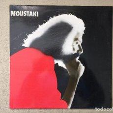 Discos de vinilo: MOUSTAKI -MOUSTAKI- (1980) DISCO VINILO LP. Lote 84324036