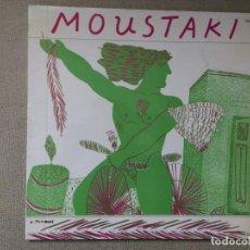 Discos de vinilo: GEORGES MOUSTAKI -MOUSTAKI- (1981) LP DISCO VINILO. Lote 84327136