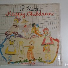 Discos de vinilo: P. LION HAPPY CHILDREN (VINILO) (1983). Lote 84343528