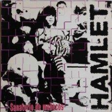 Discos de vinilo: HAMLET, SANATORIO DE MUÑECOS. MAXI SINGLE PROMOCIONAL CON ENCARTE. Lote 84357908