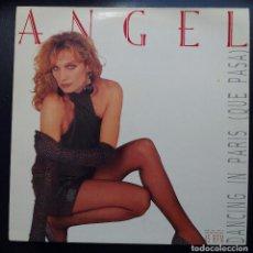 Discos de vinilo: MAXI SINGLE ANGEL - DANCING - EMI 1986.. Lote 84360356