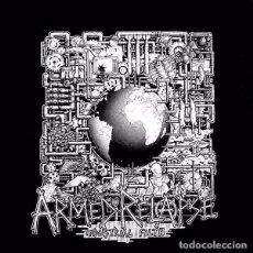 Discos de vinilo: ARMED RELAPSE - INDUSTRIAL FILTH - LP VINYL 1992 UK - HARDCORE, PUNK. Lote 84364196