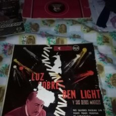 Discos de vinilo: LUZ SOBRE BEN LIGHT. Y SUS DEDOS MAGICOS. MB2. Lote 84364560
