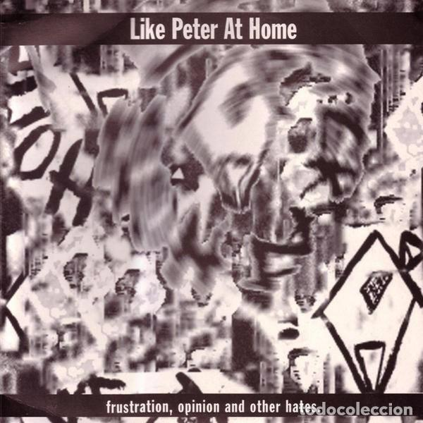 LIKE PETER AT HOME – FRUSTRATION,OPINION AND OTHERS HATES LP VINYL 1996 - INNER SLEEVE - ENCARTE (Música - Discos de Vinilo - EPs - Punk - Hard Core)