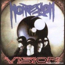 Discos de vinilo: NOPRESION - VISION LP VINYL 1993 - INNER SLEEVE - ENCARTE SPANISH SPEED METAL, HARDCORE, THRASH . Lote 84376288