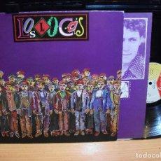 Discos de vinilo: LOS LOCOS, S/T, 1º LP, DISCO DE CULTO, POP ROCK ASTUR, TWINS RECORDS, 1987, SPAIN ASTURIAS. Lote 84378376