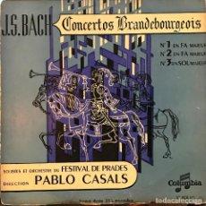 Discos de vinilo: LP FRANCÉS DE LA ORQUESTA FESTIVAL DE PRADES AÑO 1950. Lote 84381960