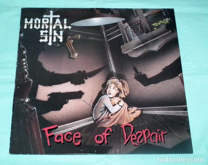 LP MORTAL SIN - FACE OF DESPAIR (Música - Discos - LP Vinilo - Heavy - Metal)