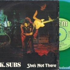 Discos de vinilo: U.K. SUBS: SHE´S NOT THERE / KICKS / VICTIM / THE SAME THING. Lote 84392544