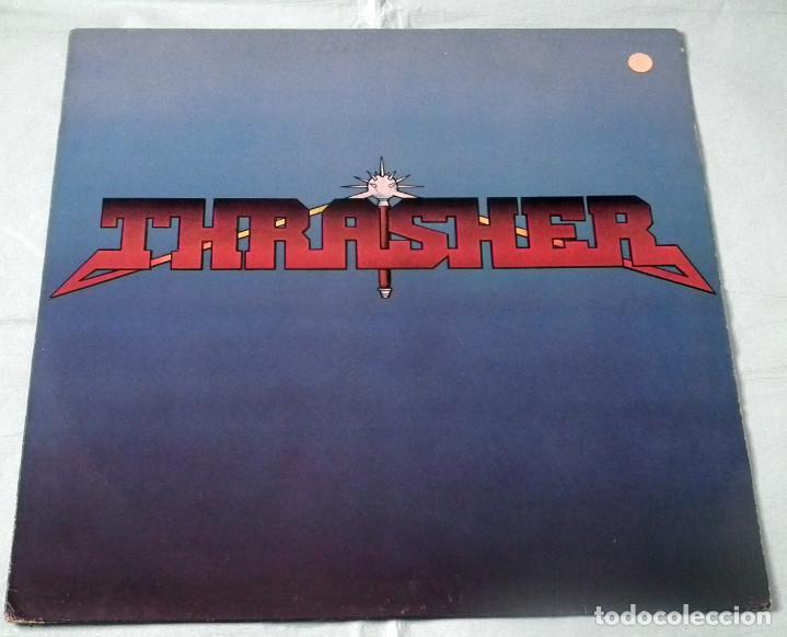 LP THRASHER - BURNING AT THE SPEED OF LIGHT (Música - Discos - LP Vinilo - Heavy - Metal)