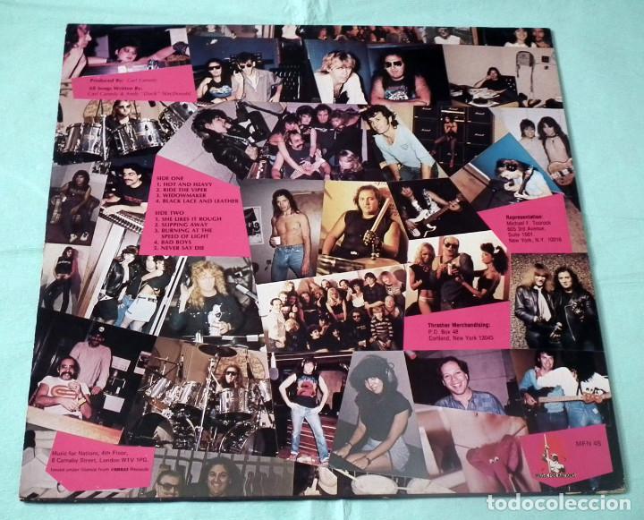 Discos de vinilo: LP THRASHER - BURNING AT THE SPEED OF LIGHT - Foto 2 - 84399364