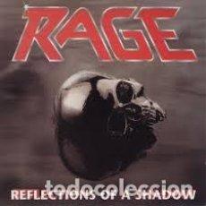 Discos de vinilo: LP RAGE - REFLECTION OF A SHADOW SOLO DISCO SIN PORTADA!. Lote 84400652