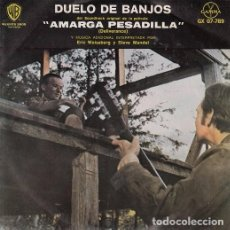 Discos de vinilo: DUELING BANJOS BSO DELIVERANCE - EP DE 4 CANCIONES MEJICANO DE VINILO COUNTRY BLUEGRASS. Lote 84406476