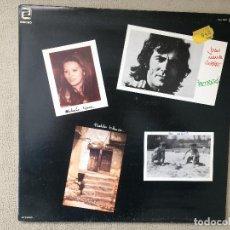 Discos de vinilo: JOAN MANUEL SERRAT -RETRATOS- (1976) LP DISCO VINILO. Lote 84418300