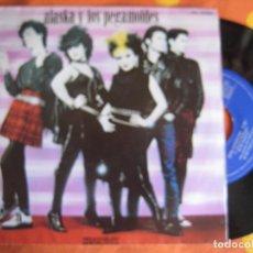 Discos de vinilo: ALASKA Y LOS PEGAMOIDES EP HISPAVOX 1981 OTRA DIMENSION/ QUIERO SER UN BOTE DE COLON/ SALIR. Lote 146191266