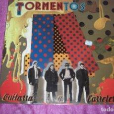 Discos de vinilo: LOS TORMENTOS. GUITARRA Y CARRETERA. JUSTINE RECORDS LP 1989 SPAIN. Lote 84420592