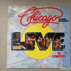 Discos de vinilo: CHICAGO -LIVE IN CONCERT- (1983) LP DISCO VINILO. Lote 84424700