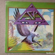 Disques de vinyle: ASIA -DON'T CRY- (1983) MAXI-SINGLE. Lote 84425744