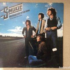 Discos de vinilo: SMOKIE -THE OTHER SIDE OF THE ROAD- (1979) LP DISCO VINILO. Lote 84430856