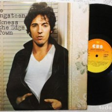 Discos de vinilo: BRUCE SPRINGSTEEN DARKNESS ON THE EDGE OF TOWN LP VINYL MADE IN SPAIN 1978. Lote 84439492