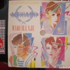 Discos de vinilo: MECANO- MAQUILLAJE. MAXI. Lote 84442308