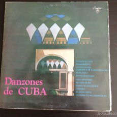 Discos de vinilo: DANZONES DE CUBA VINILO LP. Lote 84484539