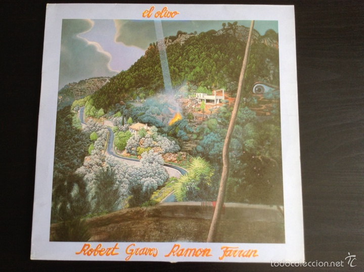 EL OLIVO ROBERT GRAVES RAMÓN FARRAN VINILO LP 1984 (Música - Discos - LP Vinilo - Grupos Españoles de los 70 y 80)