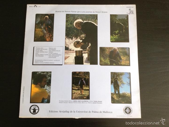 Discos de vinilo: El Olivo Robert Graves Ramón Farran vinilo LP 1984 - Foto 2 - 84487078