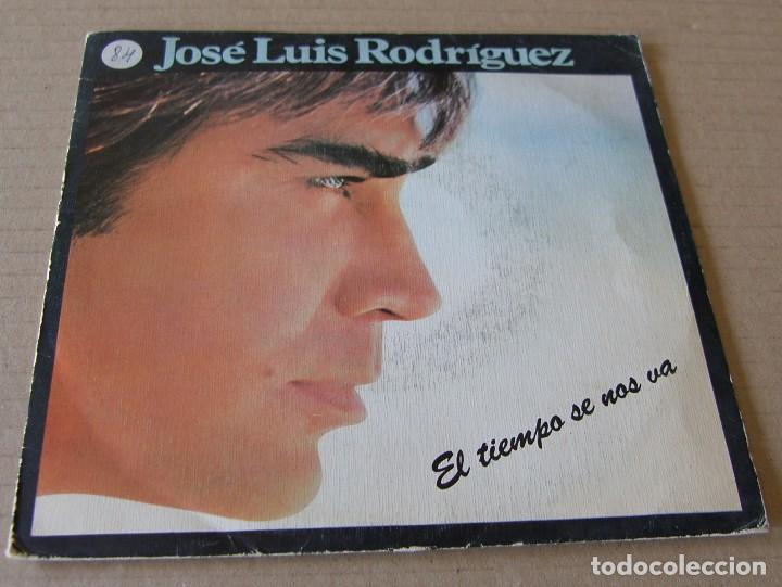 JOSE LUIS RODRIGUEZ EL PUMA-EL TIEMPO SE NOS VA SINGLE VINILO 1984 PROMOCIONAL SPAIN (Música - Discos - Singles Vinilo - Grupos y Solistas de latinoamérica)