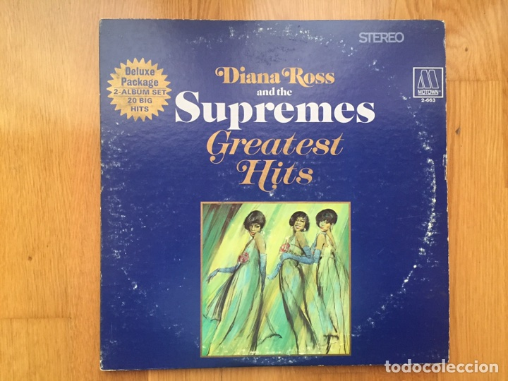 Diana Ross And The Supremes Greatest Hits 2lps Buy Vinyl Records Lp Funk Soul And Black Music At Todocoleccion 84518150