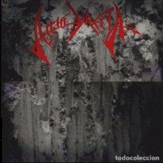 Discos de vinilo: ACCIO DIRECTA - IMAGINATE - LP VINYL 1990 INNER SLEEVE - ENCARTE- SPANISH SPEED METAL, THRASH METAL. Lote 84520584