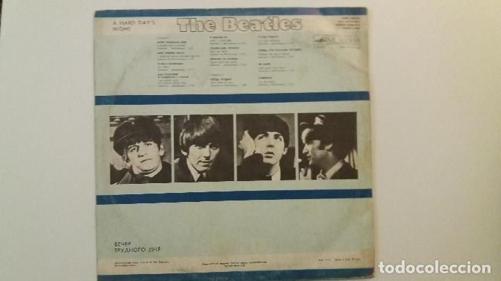 Discos de vinilo: The Beatles - A hard days night - LP - EDITADO EN RUSIA, URSS, RUSO - Foto 4 - 84134988