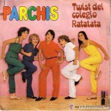 Discos de vinilo: PARCHIS, TWIST DEL COLEGIO RATATATA - SINGLE BELTER 1980. Lote 84522684