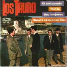 Discos de vinilo: EP LOS TAURO : EL TARTAMUDO . Lote 84523020