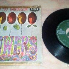 Discos de vinilo: THE ROLLING STONES - FLOWER-- DECCA. Lote 84548756
