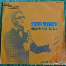 Discos de vinilo: STEVIE WONDER – HEAVEN HELP US ALL - SINGLE 1971. Lote 84561744