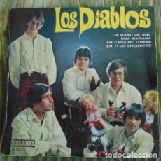 Discos de vinilo: LOS DIABLOS - UN RAYO DE SOL + 3 EP DE ORLADOR 1970. Lote 84562064