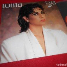 Discos de vinilo: LOLITA PARA VOLVER LP 1985 CBS EDICION ESPAÑOLA SPAIN. Lote 84583908