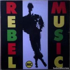 Discos de vinil: REBEL MC-REBEL MUSIC, DESIRE RECORDS-LUVLP 5, DESIRE RECORDS-843 294 1. Lote 84589284