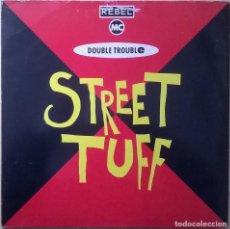 Discos de vinilo: REBEL MC, DOUBLE TROUBLE ?– STREET TUFF , DESIRE RECORDS ?– WANT X 18. Lote 84589488