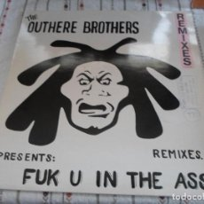 Discos de vinilo: THE OUTHERE BROTHERS FUK U IN THE ASS. Lote 84601784