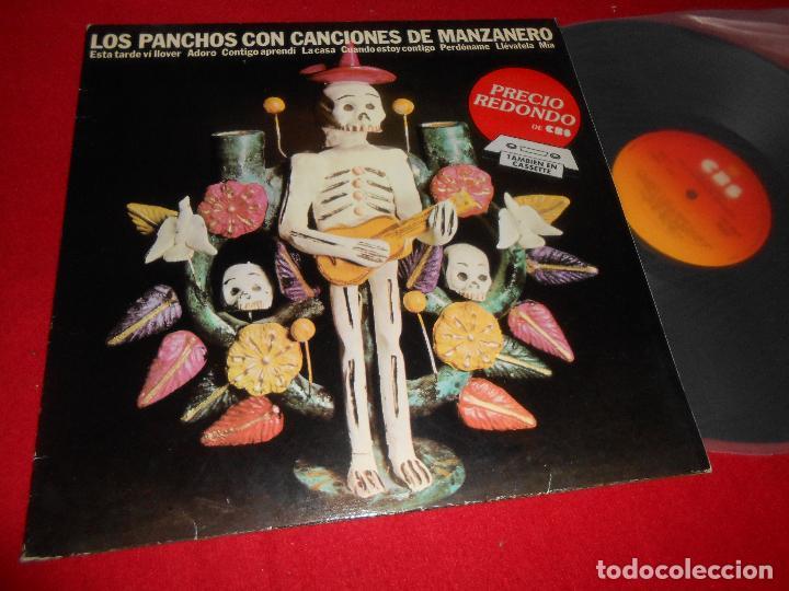 LOS PANCHOS CON CANCIONES DE MANZANERO LP 1971 CBS EDICION ESPAÑOLA SPAIN (Música - Discos - LP Vinilo - Grupos y Solistas de latinoamérica)