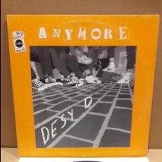 Discos de vinilo: DESY D. ANYMORE. MAXI SG / LUCAS RECORDS - 1994 / MBC. ***/***. Lote 84621216