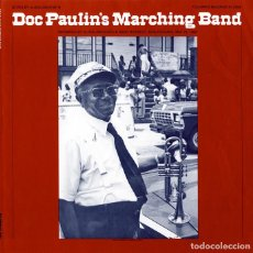 Discos de vinilo: DOC PAULIN'S MARCHING BAND - PURO NEW ORLEANS !! ORG EDT USA, TODO EXC !!!!!. Lote 84626104