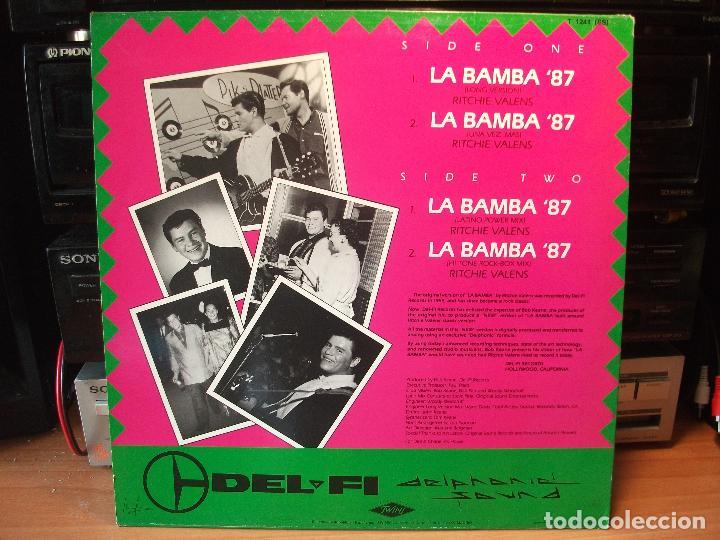 Discos de vinilo: ritchie valens,la bamba 87 maxisingle TWINS - Foto 2 - 84628080