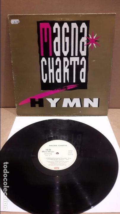 MAGNA CHARTA. HYMN. MAXI-SG / EMI - 1991 / MBC. ***/*** (Música - Discos de Vinilo - Maxi Singles - Techno, Trance y House)
