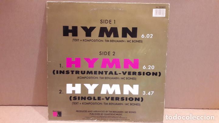 Discos de vinilo: MAGNA CHARTA. HYMN. MAXI-SG / EMI - 1991 / MBC. ***/*** - Foto 2 - 84632108