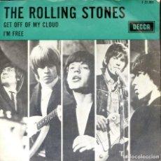 Discos de vinilo: THE ROLLING STONES GET OFF OF MY CLOUD HOLLAND-SINGLE ORIGINAL , RARO!!!!!. Lote 84636660