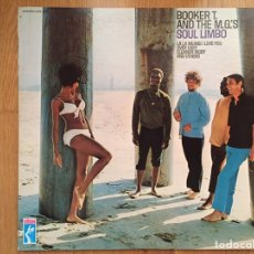 Discos de vinilo: BOOKER T AND THE M.G.'S: SOUL LIMBO (STAX STS-2001) US 1968. Lote 84637494