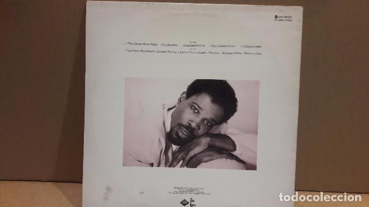 Discos de vinilo: BILLY OCEAN. TEAR DOWN THESE WALLS. LP / JIVE - 1988 / MBC. ***/*** - Foto 2 - 84637676